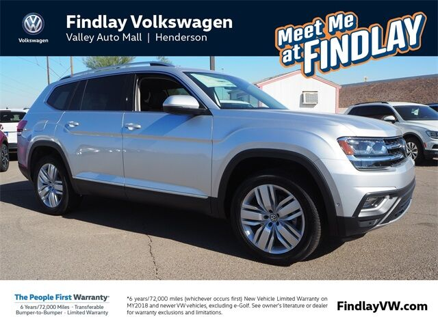 2018 Volkswagen Atlas SEL Premium with 4MOTION® Henderson NV