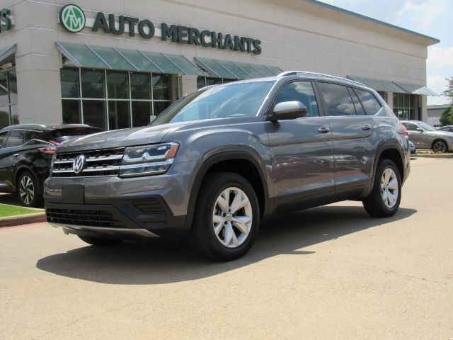2018 Volkswagen Atlas V6 Launch Edition, Panoramic Roof , 3rd Row Seat, Back-Up Camera, Bluetooth Connection Plano TX