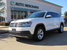 2018_Volkswagen_Atlas_V6 Launch Edition*3RD ROW SEAT,BACK UP CAM,BLUETOOTH CONNECTION,REAR A/C,UNDER FACTORY WARRANTY!_ Plano TX