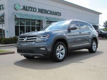 2018_Volkswagen_Atlas_V6 SE LEATHER, 3RD ROW, HTD FRONT STS, BLIND SPOT, UNDER FACTORY WARRANTY_ Plano TX
