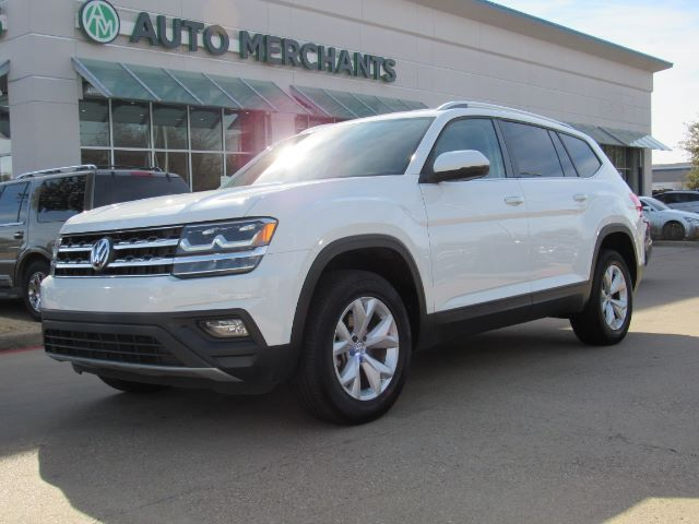 2018 Volkswagen Atlas V6 SE ,LEATHER, 3RD ROW SEATING,BACKUP CAMERA, BLUETOOTH CONNECTIVITY, SATELLITE/AM/FM RADIO Plano TX