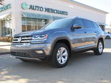 2018_Volkswagen_Atlas_V6 SE w/Technology AWD*BACKUP CAM,BLINDSPOT MONITOR,BLUETOOTH CONNECTION,UNDER FACTORY WARRANTY!_ Plano TX