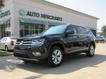 2018 Volkswagen Atlas V6 SEL AWD LEATHER, PANORAMIC SUNROOF, BACKUP CAM, BLIND SPOT, HTD FRNT STS, BLUETOOTH, WARRANTY