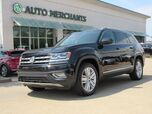 2018 Volkswagen Atlas V6 SEL Premium AWD LEATHER, PANORAMIC SUNROOF, 3RD ROW, ADAPTIVE CRUISE, BLIND SPOT, BLUETOOTH, WARR