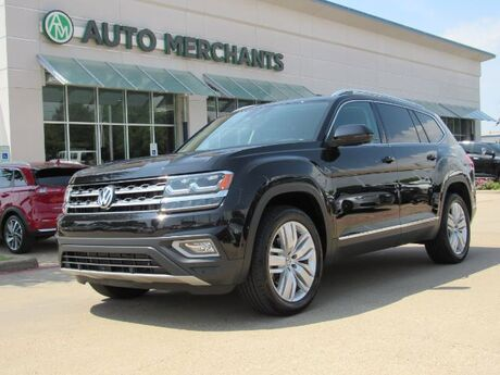 2018 Volkswagen Atlas V6 SEL Premium AWD LEATHER, PANORAMIC SUNROOF, 3RD ROW, ADAPTIVE CRUISE, BLIND SPOT, BLUETOOTH, WARR Plano TX