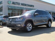 2018_Volkswagen_Atlas_V6 SEL*3RD ROW SEAT,DUAL SUNROOF,BACK UP CAMERA,BLIND SPOT MONITOR,REAR PARKING AID,FACTORY WARRANTY_ Plano TX
