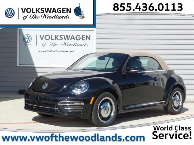 2018 Volkswagen Beetle Convertible Coast The Woodlands TX