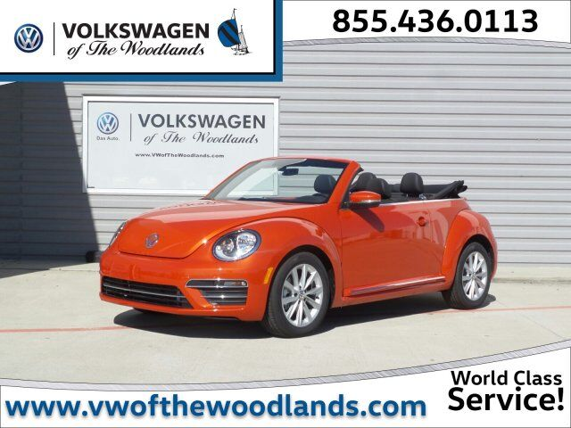 2018 Volkswagen Beetle Convertible S The Woodlands TX