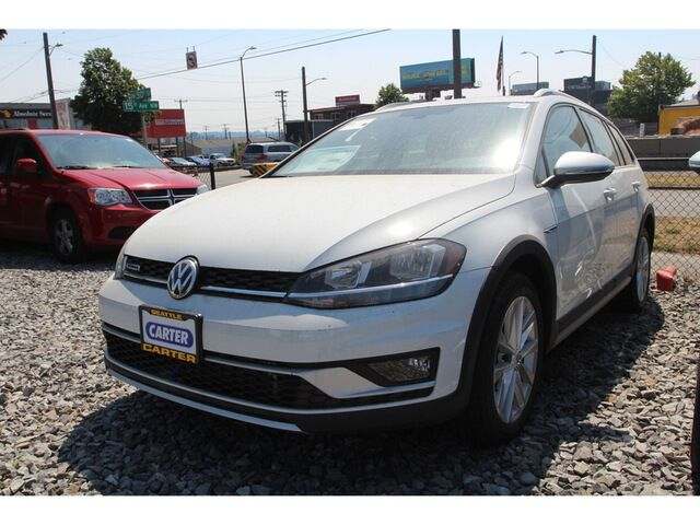 2018 Volkswagen Golf Alltrack SE - 6sp Man w/Blind Spot Monitor Seattle WA