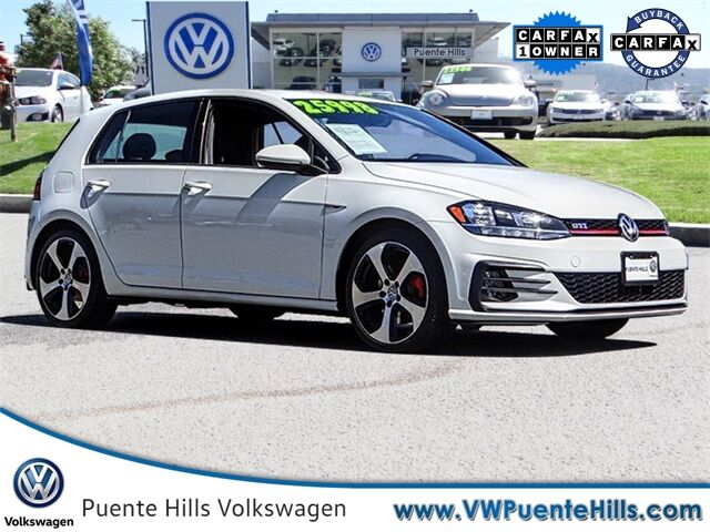 2018 Volkswagen Golf GTI 2.0T S City of Industry CA