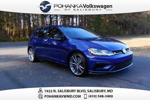 2018_Volkswagen_Golf R_DCC & Navigation 4Motion ** MANUAL ** LOTS OF FUN **_ Salisbury MD