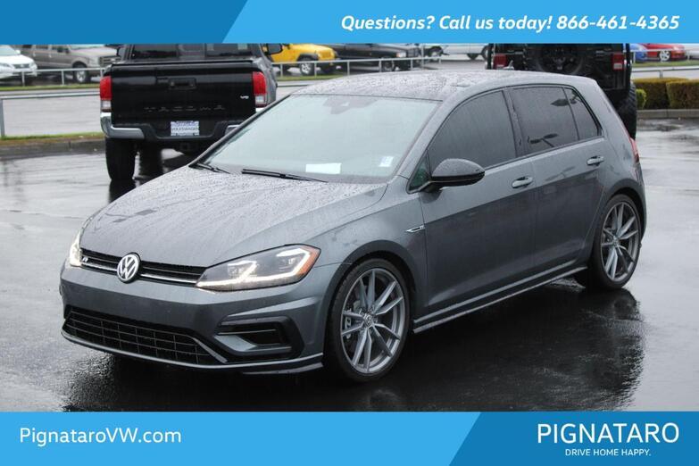 2018 Volkswagen Golf R DCC & Navigation 4Motion Everett WA