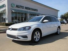 2018_Volkswagen_Golf SportWagen_TSI SE 6A Panoramic Roof, Leatherette, Heated seats, 1.8L Turbocharged 4 Cylinder Engine, ABS Brakes_ Plano TX