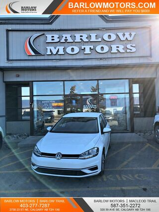 2018_Volkswagen_Golf_TSI Bluetooth Backup Cam Heated Seats_ Calgary AB