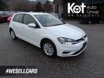 2018 Volkswagen Golf Trendline Hatchback, Heated Seats, Touch Screen, Bluetooth, Back-up Camera