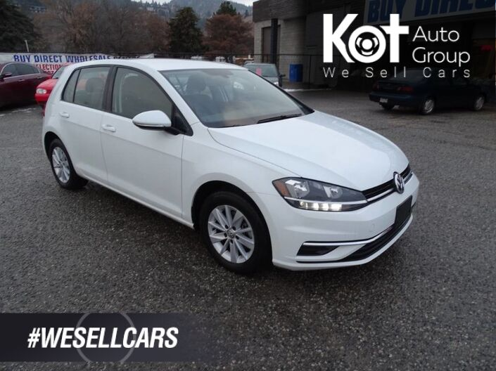 2018 Volkswagen Golf Trendline Hatchback, Heated Seats, Touch Screen, Bluetooth, Back-up Camera Kelowna BC