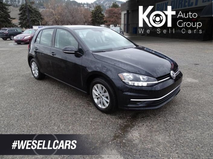 2018 Volkswagen Golf Trendline Hatchback, No Accidents, One Owner, Heated Seats, Back-up Camera, Bluetooth Kelowna BC