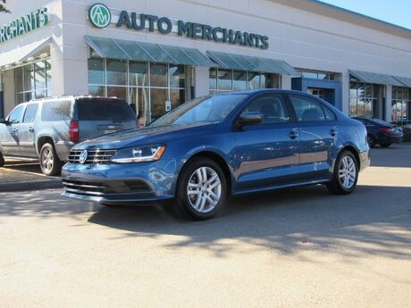 2018 Volkswagen Jetta 1.4T S, BACKUP CAMERA, BLUETOOTH CONNECTIVITY, AUX/USB INPUT, STEERING WHEEL CONTROLS Plano TX