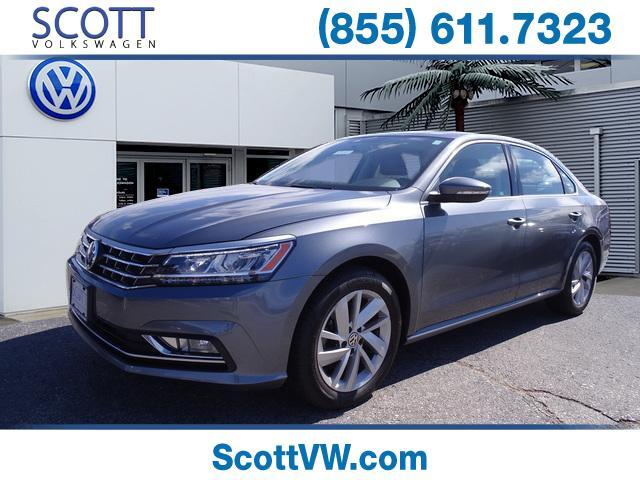 2018 Volkswagen PASSAT SE/lighting package 2.0T SE Auto Providence RI