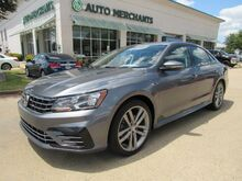 2018_Volkswagen_Passat_R-Line LEATHER, BACKUP CAMERA, BLIND SPOT MONITOR, HTD FRONT SEATS, BLUETOOTH CONNECTIVITY_ Plano TX