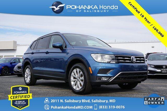 2018 Volkswagen Tiguan 2.0T S ** Pohanka Certified 10 Year / 100,000  ** Salisbury MD