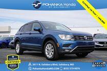 2018 Volkswagen Tiguan 2.0T S ** Pohanka Certified 10 Year / 100,000  **