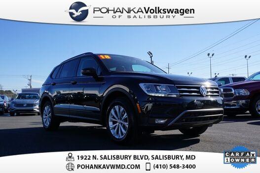 2018_Volkswagen_Tiguan_2.0T S ** THIRD ROW **_ Salisbury MD