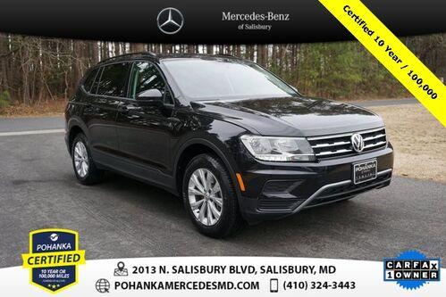 2018_Volkswagen_Tiguan_2.0T S 3RD ROW ** Pohanka Certified 10 year/ 100,000 **_ Salisbury MD