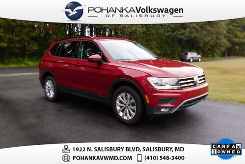 2018_Volkswagen_Tiguan_2.0T S 4Motion ** 7 YEAR / 84K MILE WARRANTY **_ Salisbury MD