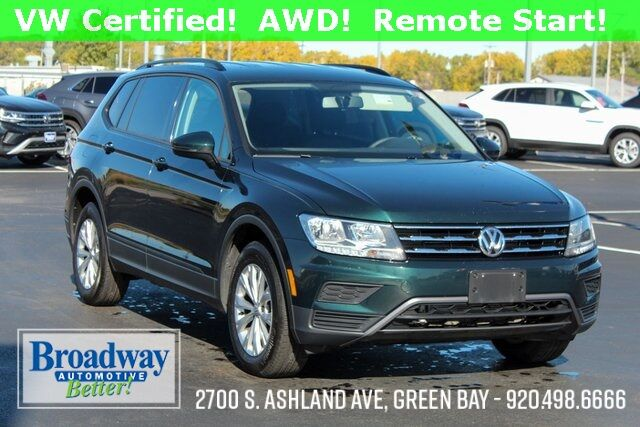 2018 Volkswagen Tiguan 2.0T S 4Motion Green Bay WI