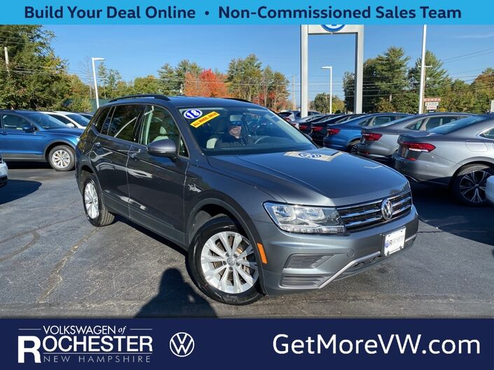 2018 Volkswagen Tiguan 2.0T S 4Motion Rochester NH