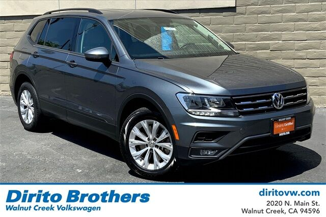 2018 Volkswagen Tiguan 2.0T S Walnut Creek CA