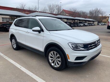 2018_Volkswagen_Tiguan_2.0T SE 3RD ROW SEATS,BUCKET SEATS,BLIND SPOT,BCK-CAM,HTD_ Euless TX