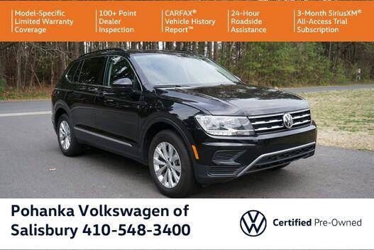 2018_Volkswagen_Tiguan_2.0T SE  4Motion ** VW CERTIFIED **_ Salisbury MD