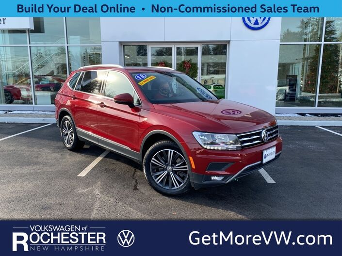 2018 Volkswagen Tiguan 2.0T SEL 4Motion Rochester NH