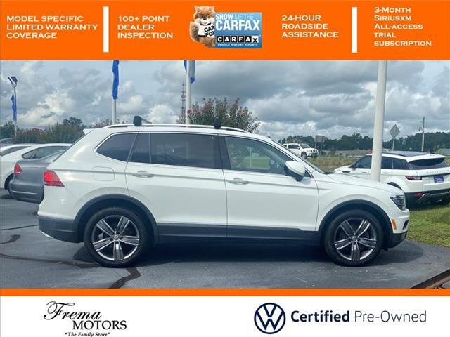 2018 Volkswagen Tiguan 2.0T SEL Premium All-wheel Drive 4MOTION Goldsboro NC