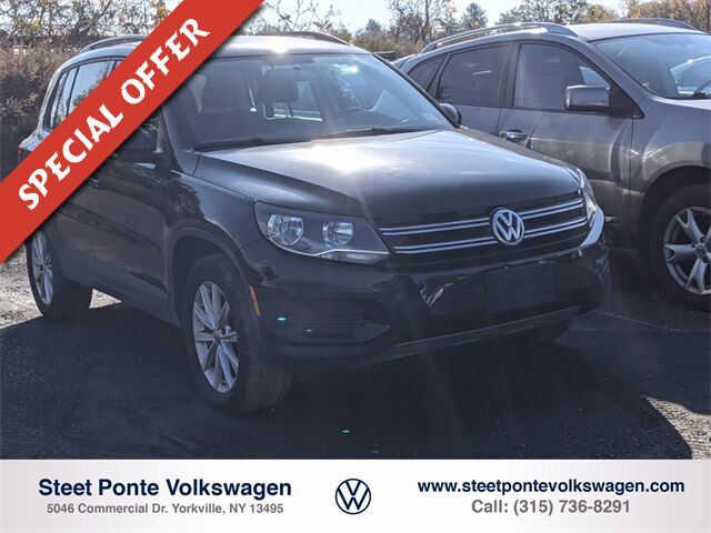 2018 Volkswagen Tiguan 2.0T SEL Yorkville NY