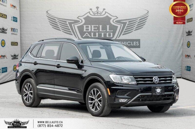 2018 Volkswagen Tiguan Comfortline, NAVI, REAR CAM, B.SPOT