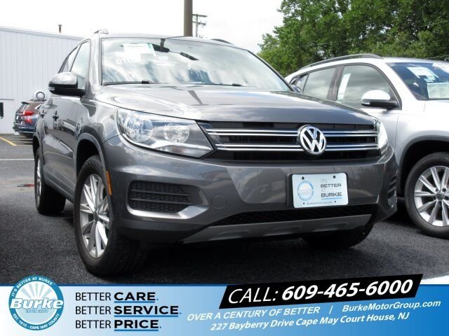 2018 Volkswagen Tiguan Limited  South Jersey NJ