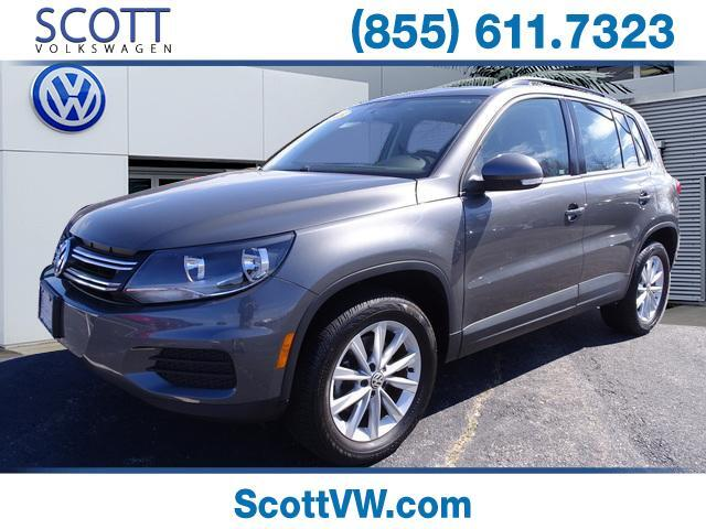 2018 Volkswagen Tiguan Limited 4MOTION 2.0T 4MOTION Providence RI