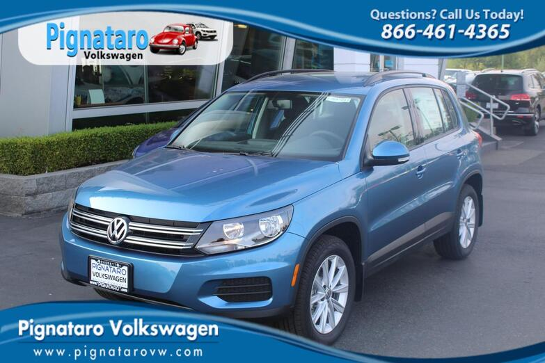 2018 Volkswagen Tiguan Limited Limited with 4MOTION® Everett WA