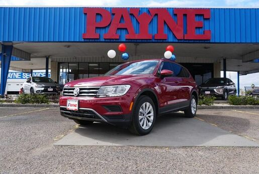2018 Volkswagen Tiguan S with 4MOTION® Brownsville TX