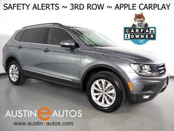 2018_Volkswagen_Tiguan SE_*BLIND SPOT ALERT, FORWARD COLLISION ALERT w/BRAKING, BACKUP-CAMERA, TOUCH SCREEN, 3RD ROW SEATING, HEATED SEATS, BLUETOOTH, APPLE CARPLAY_ Round Rock TX