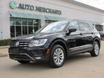 2018 Volkswagen Tiguan SE LEATHER, HTD FRONT STS, BLIND SPOT, BACKUP CAM, BLUETOOTH, UNDER FACTORY WARRANTY