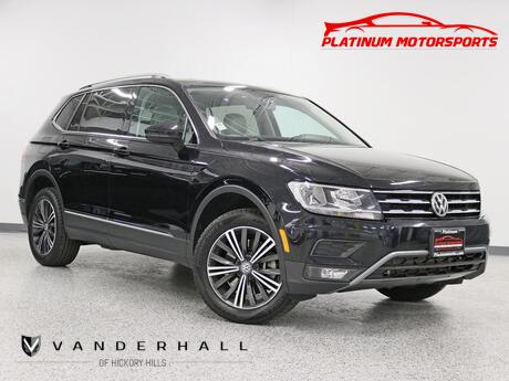 2018 Volkswagen Tiguan SEL 1 Owner Pano Nav Back Up Third Row Fully Loaded Hickory Hills IL