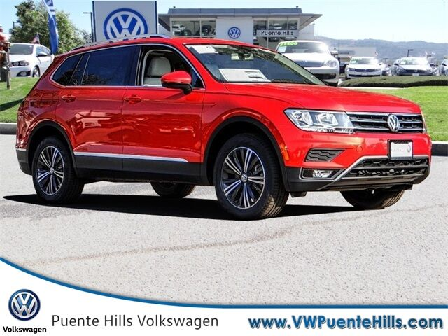 2018 Volkswagen Tiguan SEL City of Industry CA