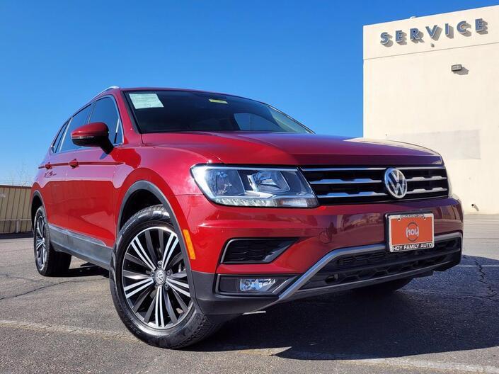 2018 Volkswagen Tiguan SEL El Paso TX