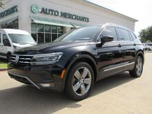 2018_Volkswagen_Tiguan_SEL Premium, 3RD ROW, ADAPT CRUISE CNTRL. BLIND SPOT, BACKUP CAM, NAVI, APPLE CAR PLAY/ANDROID AUTO_ Plano TX