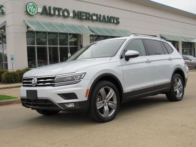 2018 Volkswagen Tiguan SEL Premium LEATHER, 3RD ROW STS, NAVIGATION, PANARAMIC SUNROOF,360 VIEW PARKING, BLIND SPOT MONITOR Plano TX