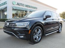 2018_Volkswagen_Tiguan_SEL Premium. LOADED! NAVI, PANO SUNROOF, THIRD ROW SEATING, BLIND SPOT, ADAPTIVE CRUISE, BACKUP CAM_ Plano TX